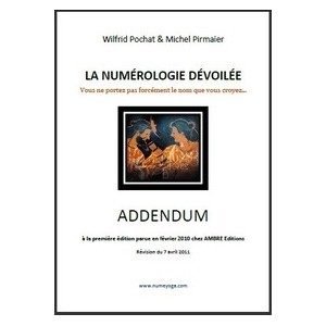 Addendum gratuit au tome I de La Numérologie dévoilée