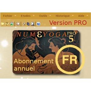 Abonnement annuel Numéyoga.Pro 5 online