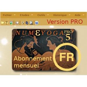 Abonnement mensuel Numéyoga.Pro 5 online
