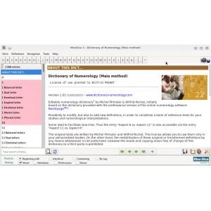 Dictionnaire de numérologie (version anglaise)